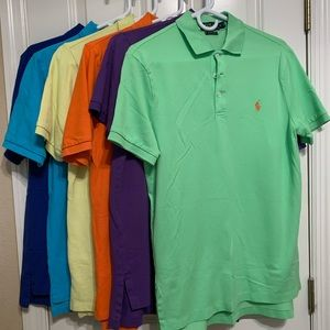 (5) Polo Ralph Lauren shirts in excellent cond